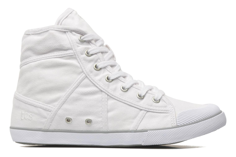 Sneaker TBS Veluta weiß ansicht von hinten