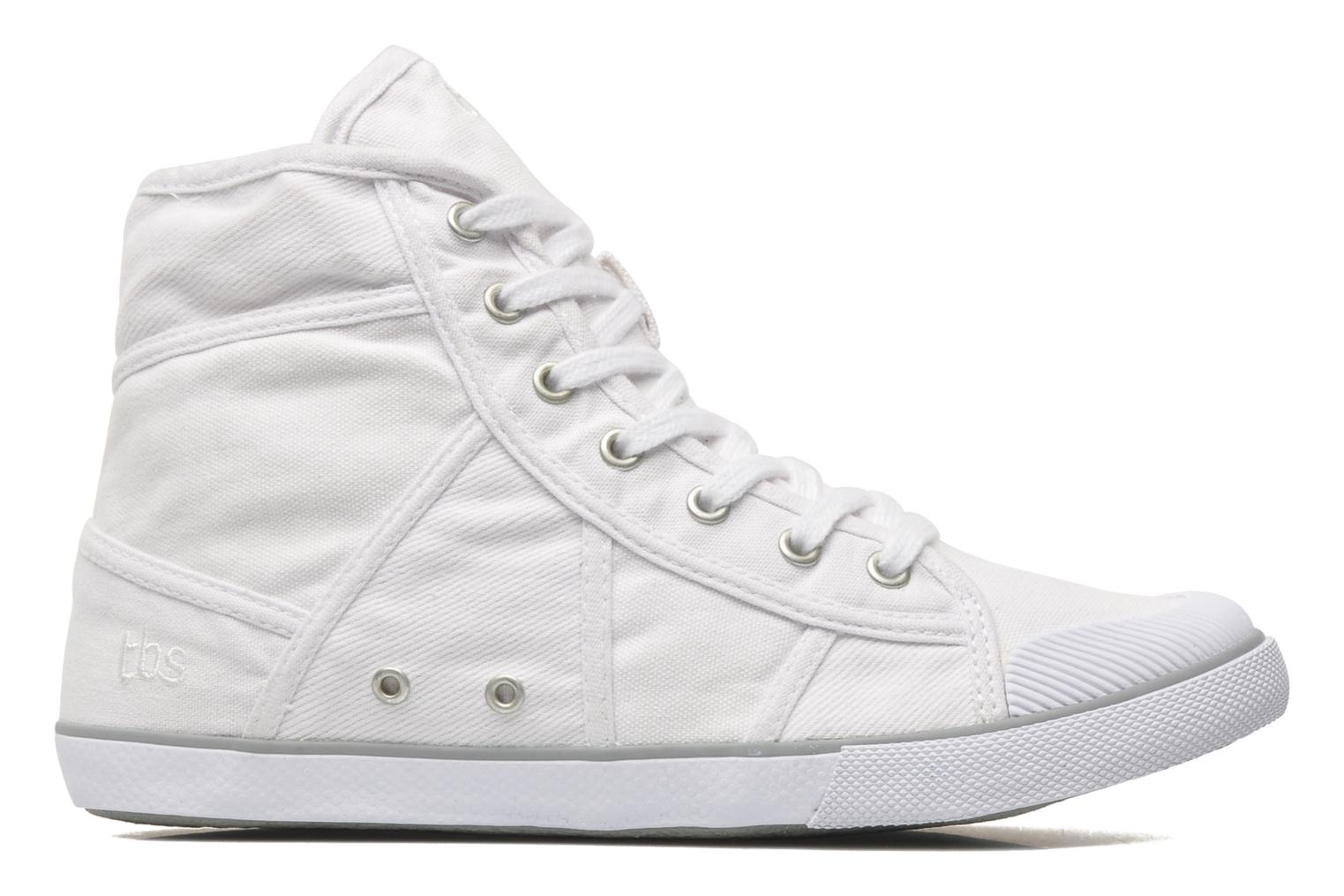 Trainers TBS Veluta White back view
