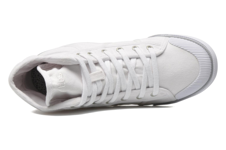 Sneaker TBS Veluta weiß ansicht von links