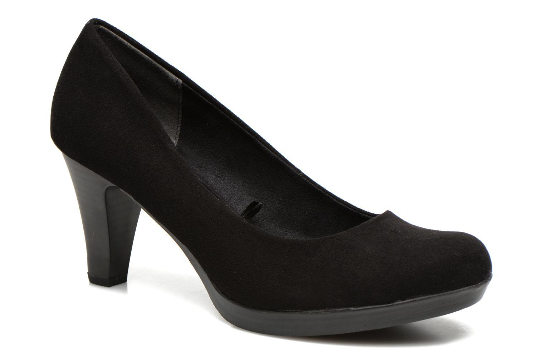 Høje hæle Marco Tozzi Soe Sort detaljeret billede af skoene
