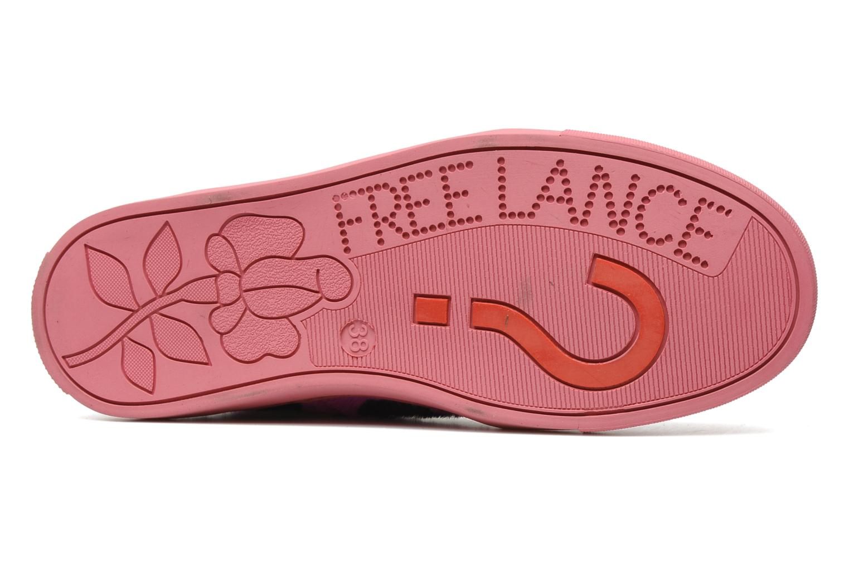 Sneaker Free Lance Kaley sport basket rosa ansicht von oben