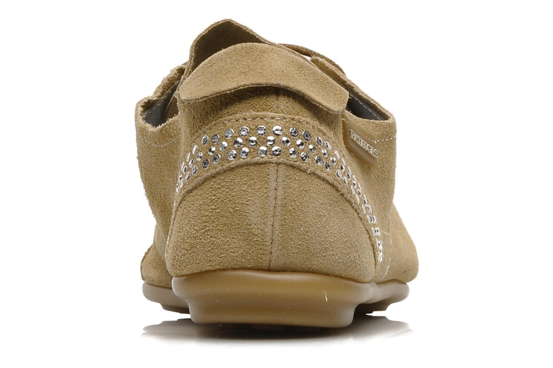 Chaussures à lacets Pataugas Swing Beige vue droite