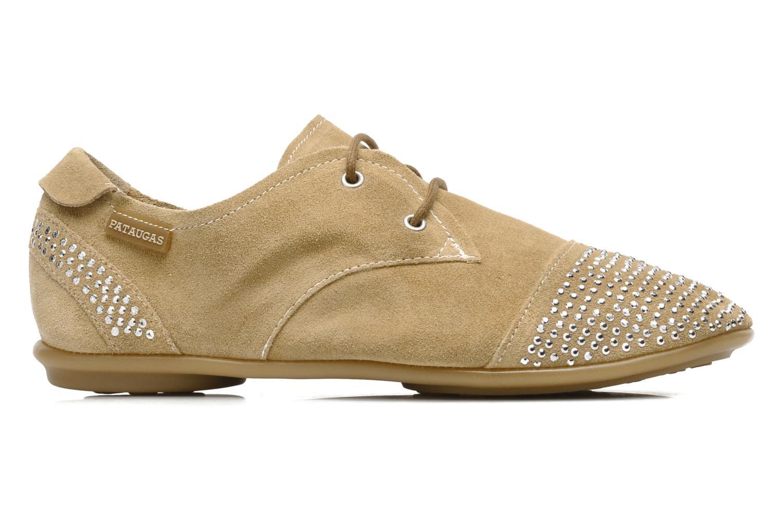 Chaussures à lacets Pataugas Swing Beige vue derrière
