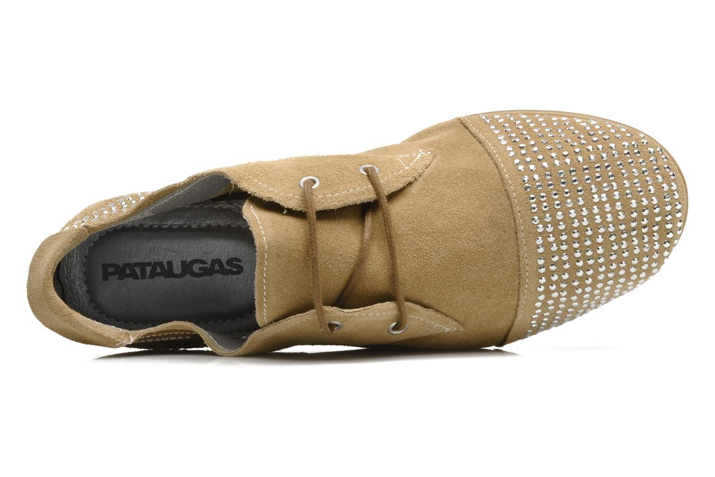 Chaussures à lacets Pataugas Swing Beige vue gauche