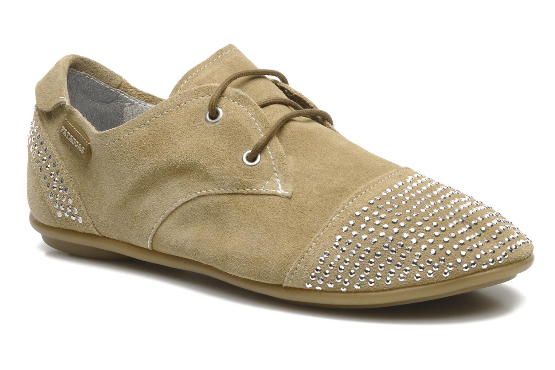Chaussures à lacets Pataugas Swing Beige vue détail/paire