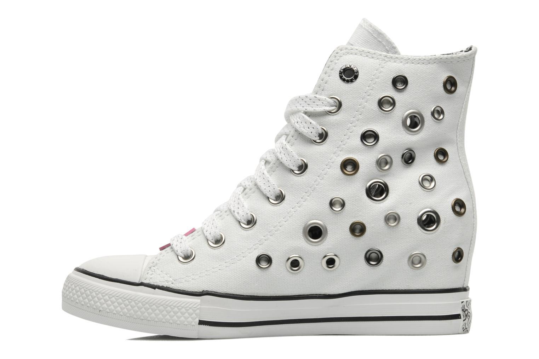 Sneaker Skechers Daddy's money- Loose Change 39111 weiß ansicht von vorne