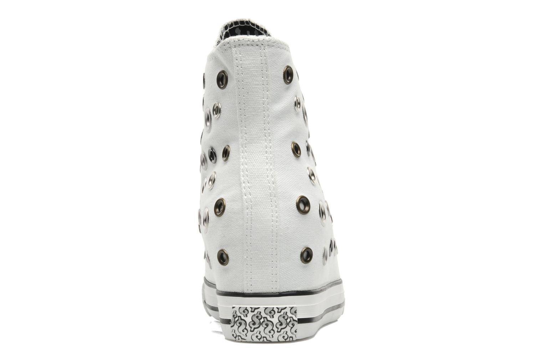 Baskets Skechers Daddy's money- Loose Change 39111 Blanc vue droite