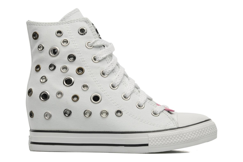 Sneakers Skechers Daddy's money- Loose Change 39111 Wit achterkant