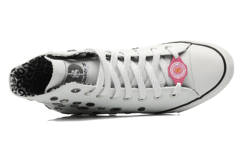 Sneakers Skechers Daddy's money- Loose Change 39111 Vit bild från vänster sidan
