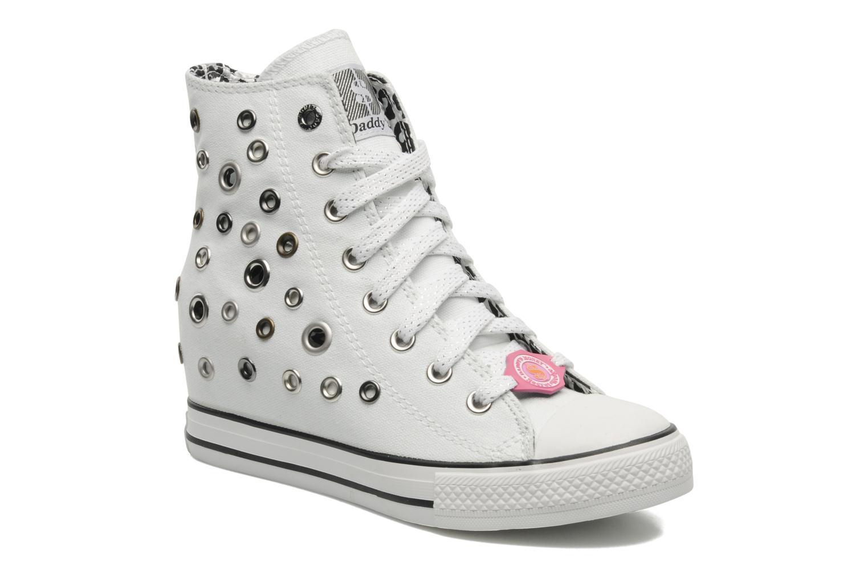 Sneakers Skechers Daddy's money- Loose Change 39111 Hvid detaljeret billede af skoene
