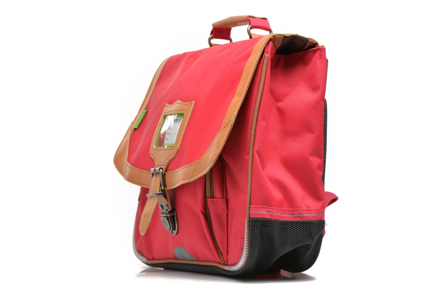 School bags Tann's Cartable 35 cm CLASSIC Pink model view