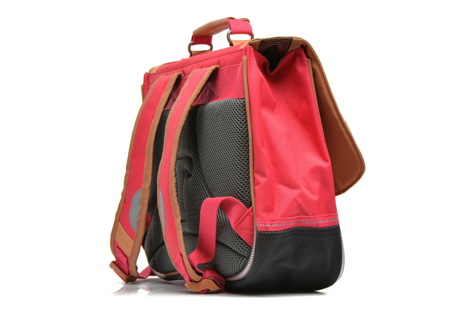 School bags Tann's Cartable 35 cm CLASSIC Pink view from the right