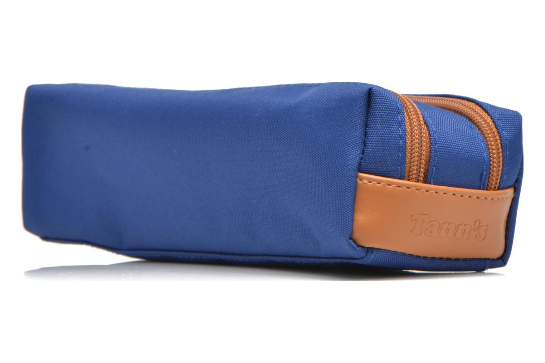 Skolväskor Tann's Trousse double CLASSIC Blå bild av skorna på