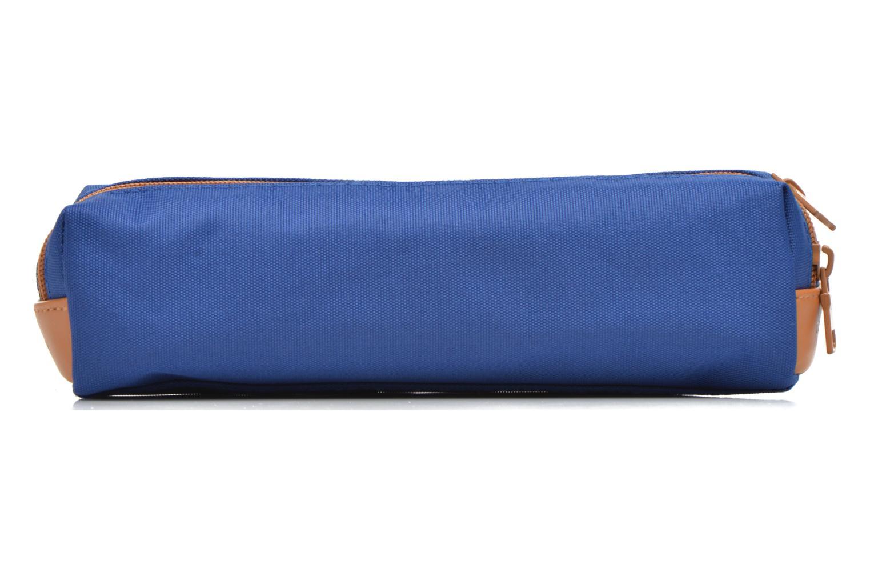 School bags Tann's Trousse double CLASSIC Blue front view
