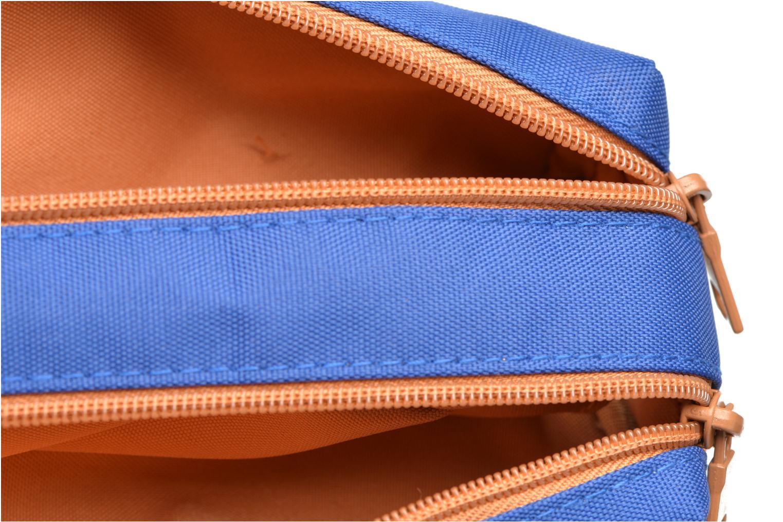 Skolväskor Tann's Trousse double CLASSIC Blå bild från baksidan