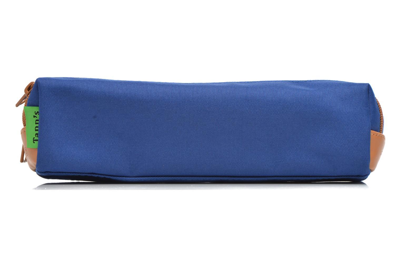 Skoletasker Tann's Trousse double CLASSIC Blå detaljeret billede af skoene