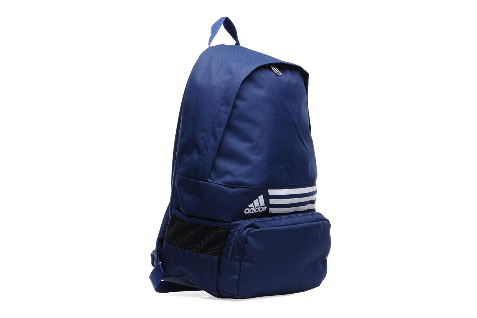 Rucksacks Adidas Performance Backpack M 3S Blue view from the right
