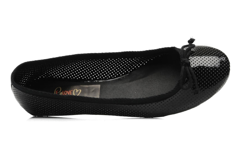 Ballerina's I Love Shoes Phillian Zwart links
