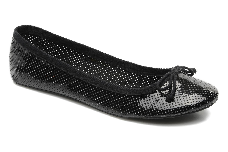 Ballerina's I Love Shoes Phillian Zwart detail