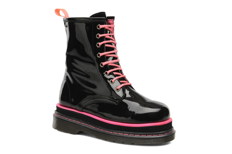 Boots en enkellaarsjes Buffalo Oceano Zwart detail