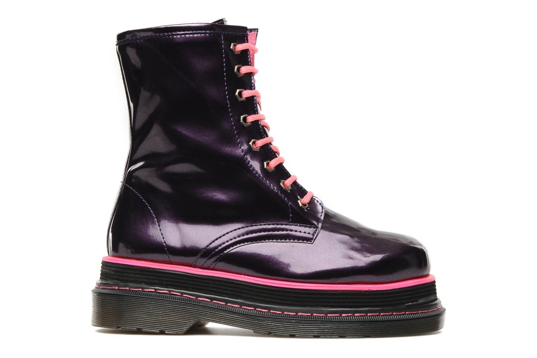 Boots en enkellaarsjes Buffalo Oceano Paars achterkant