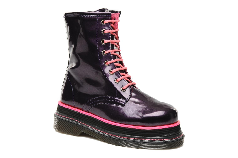 Boots en enkellaarsjes Buffalo Oceano Paars detail