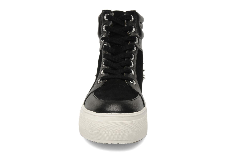 Baskets Buffalo Bonzai Noir vue portées chaussures