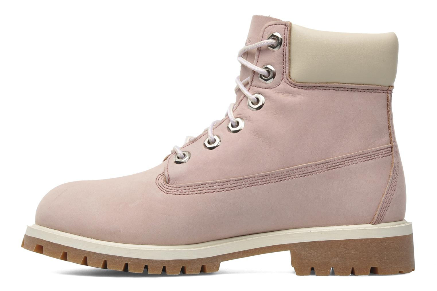 Bottines et boots Timberland 6 In Premium WP Boot Rose vue face