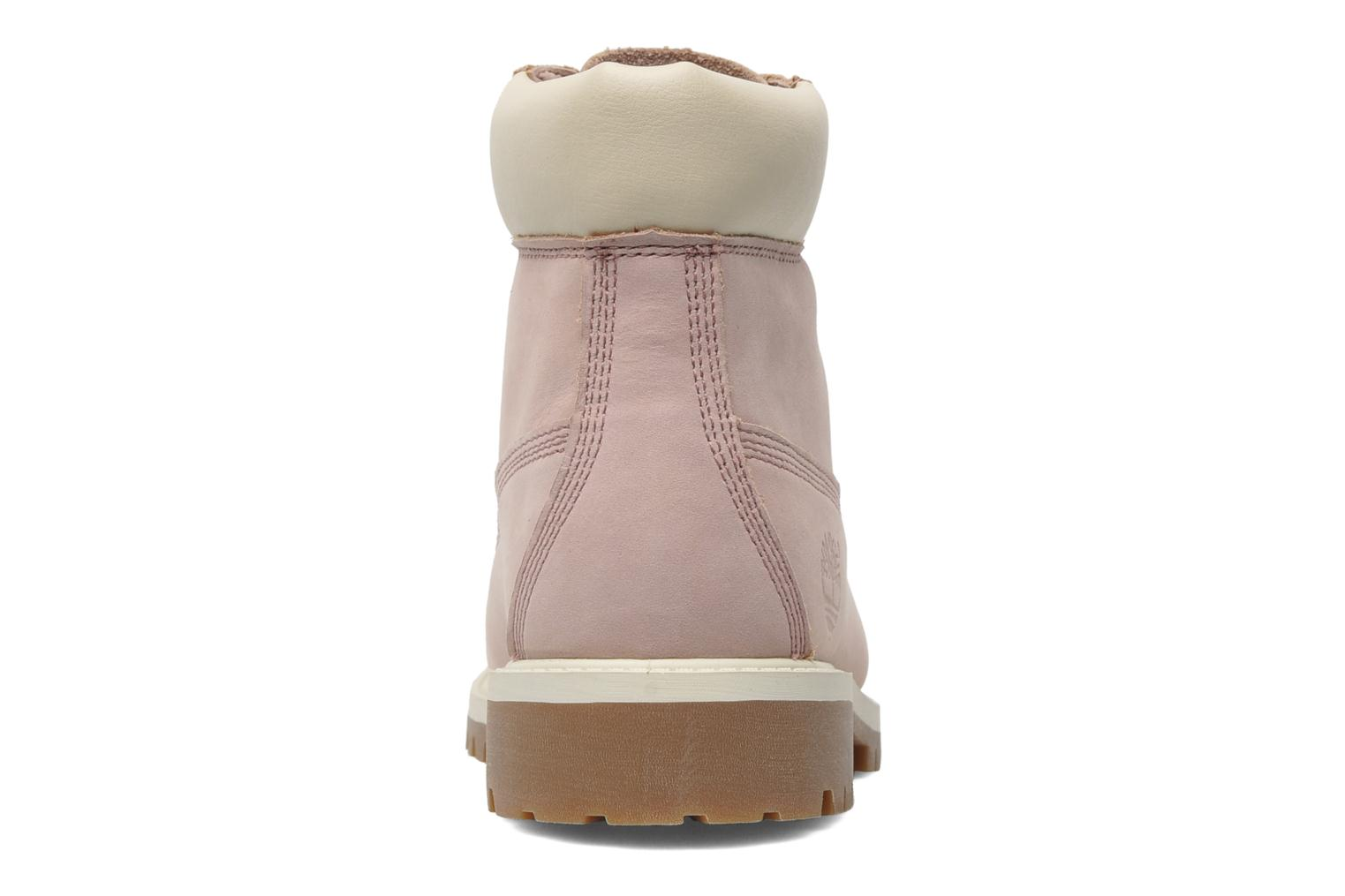 Ankle boots Timberland 6 In Premium WP Boot Pink view from the right