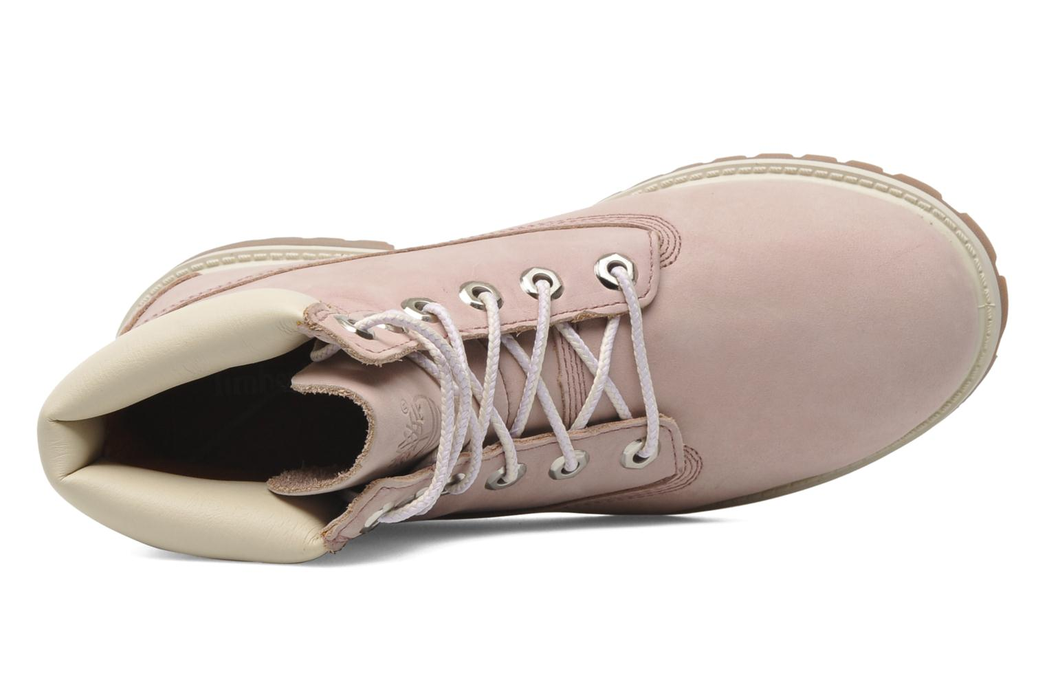 Ankle boots Timberland 6 In Premium WP Boot Pink view from the left