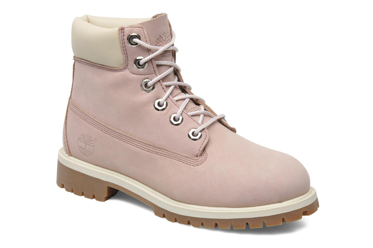 Ankle boots Timberland 6 In Premium WP Boot Pink detailed view/ Pair view