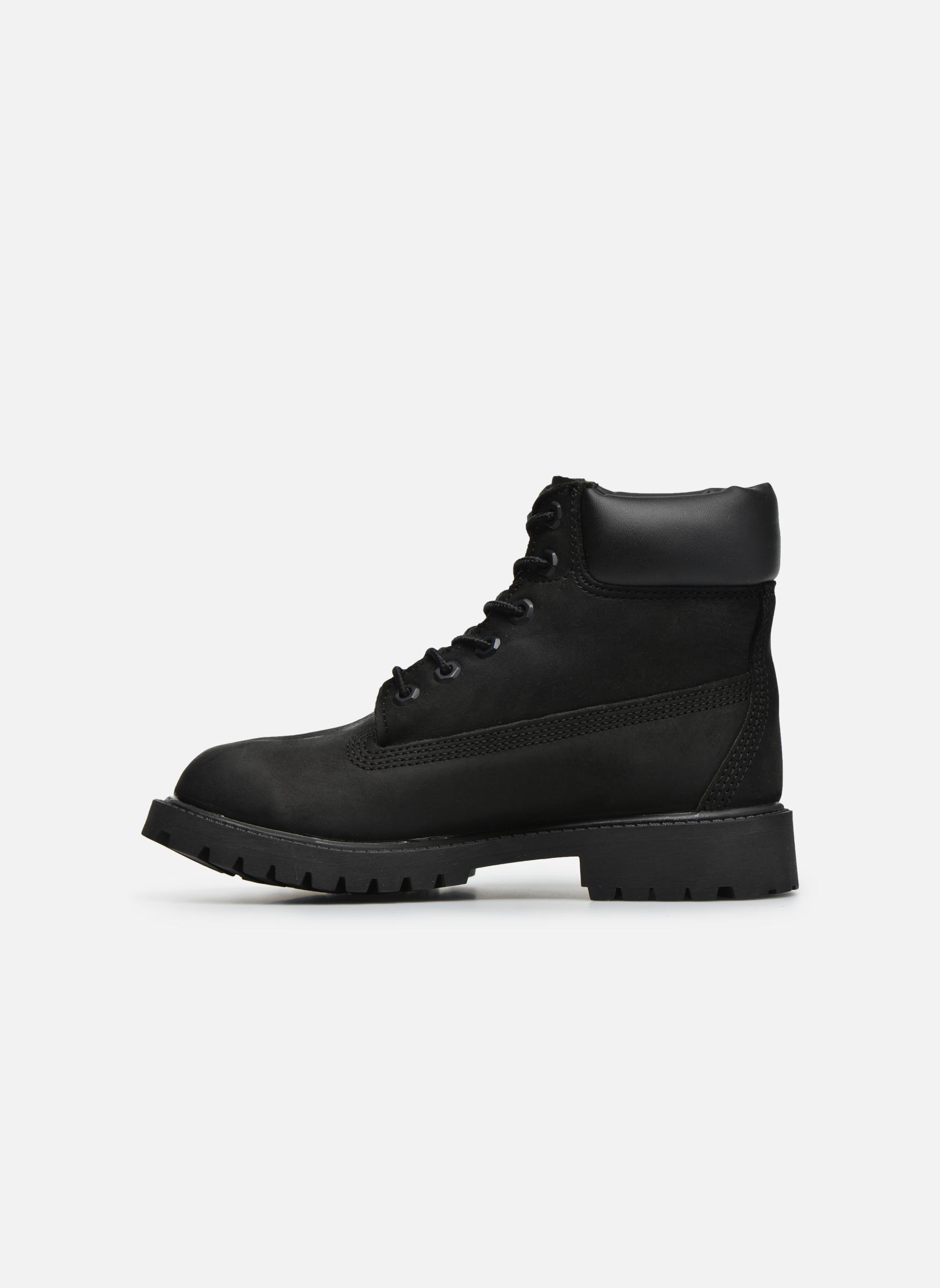 Boots en enkellaarsjes Timberland 6 In Premium WP Boot Zwart voorkant