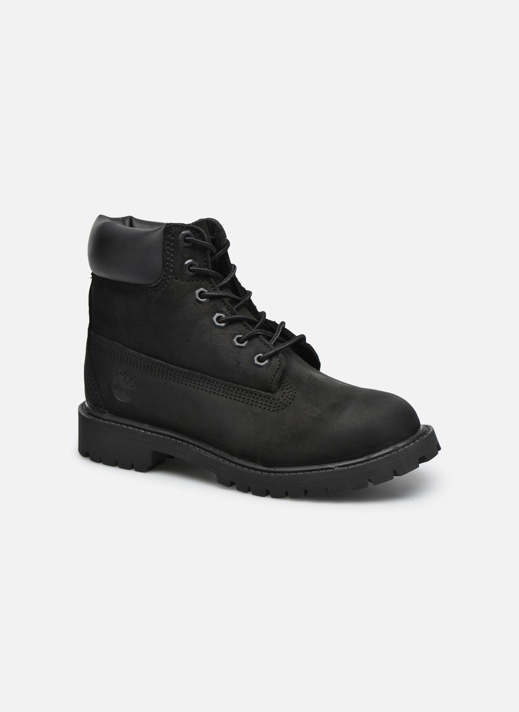 Boots en enkellaarsjes Timberland 6 In Premium WP Boot Zwart detail
