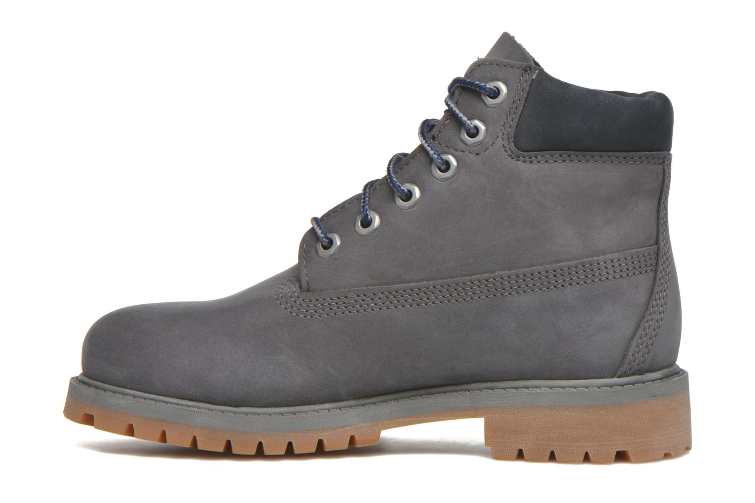 Bottines et boots Timberland 6 In Premium WP Boot Bleu vue face