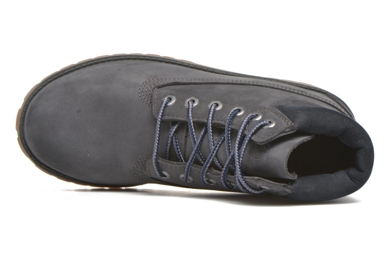 Botines  Timberland 6 In Premium WP Boot Azul vista lateral izquierda