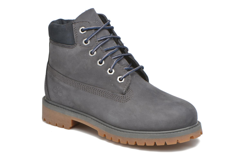 Bottines et boots Timberland 6 In Premium WP Boot Bleu vue détail/paire