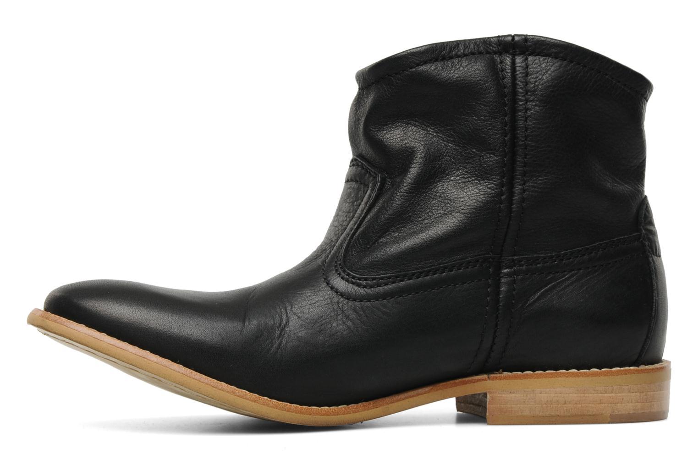 Bottines et boots Pieces Centa Noir vue face