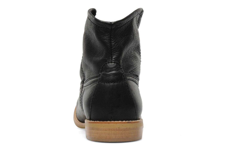 Stiefeletten & Boots Pieces Centa schwarz ansicht von rechts