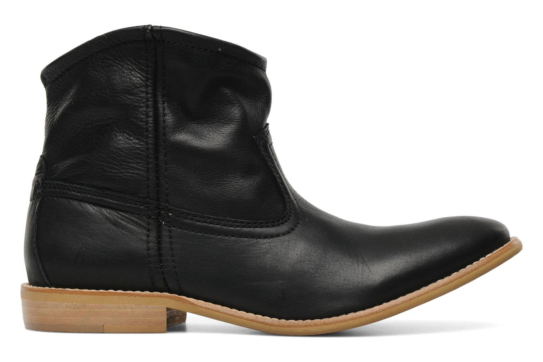 Stiefeletten & Boots Pieces Centa schwarz ansicht von hinten