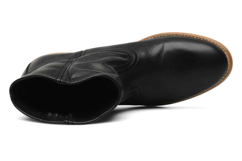 Stiefeletten & Boots Pieces Centa schwarz ansicht von links
