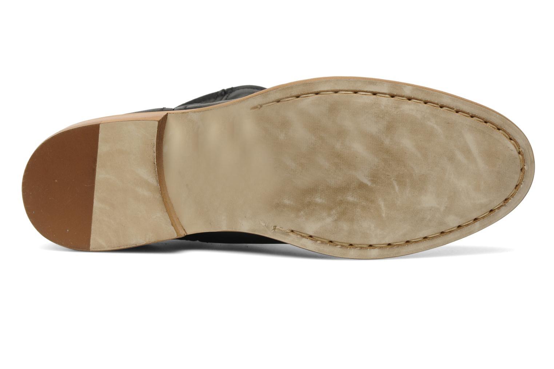 Stiefeletten & Boots Pieces Centa schwarz ansicht von oben
