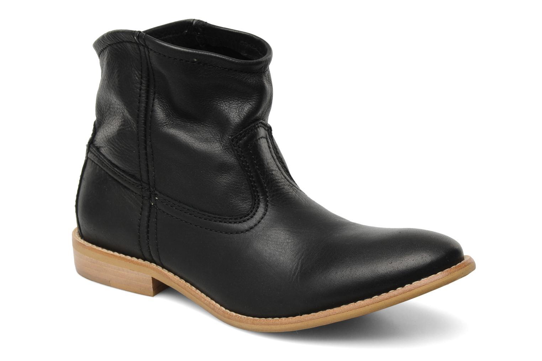 Bottines et boots Pieces Centa Noir vue détail/paire