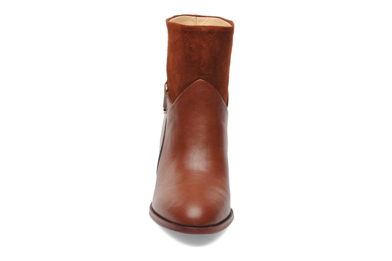 Bottines et boots MySuelly Claude Marron vue portées chaussures