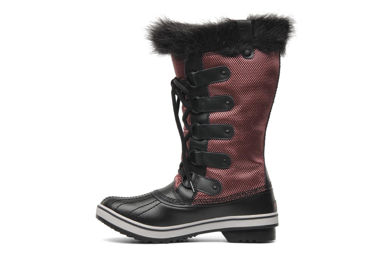 Boots en enkellaarsjes Sorel Tofino Nylon Zwart voorkant