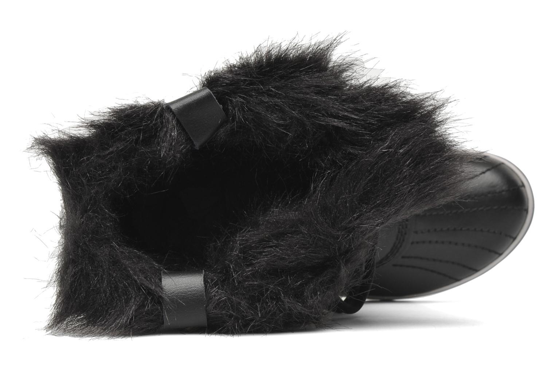 Boots en enkellaarsjes Sorel Tofino Nylon Zwart links