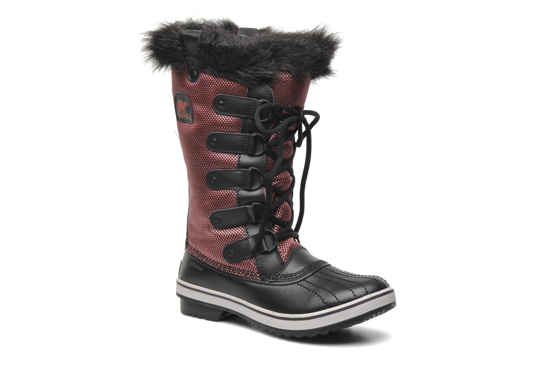 Boots en enkellaarsjes Sorel Tofino Nylon Zwart detail