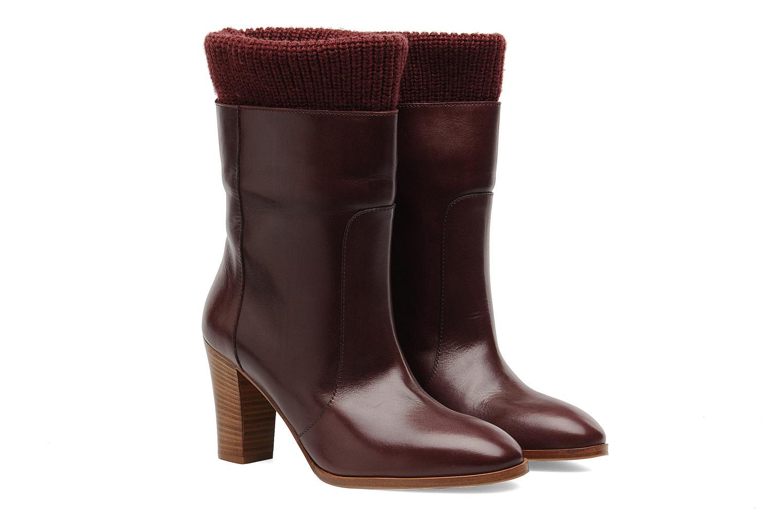 Boots en enkellaarsjes Sonia Rykiel Sepia Bordeaux 3/4'