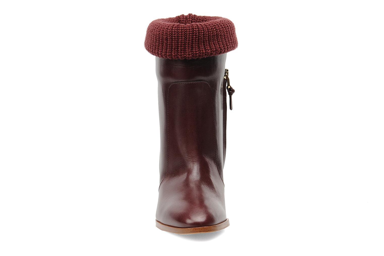 Boots en enkellaarsjes Sonia Rykiel Sepia Bordeaux model
