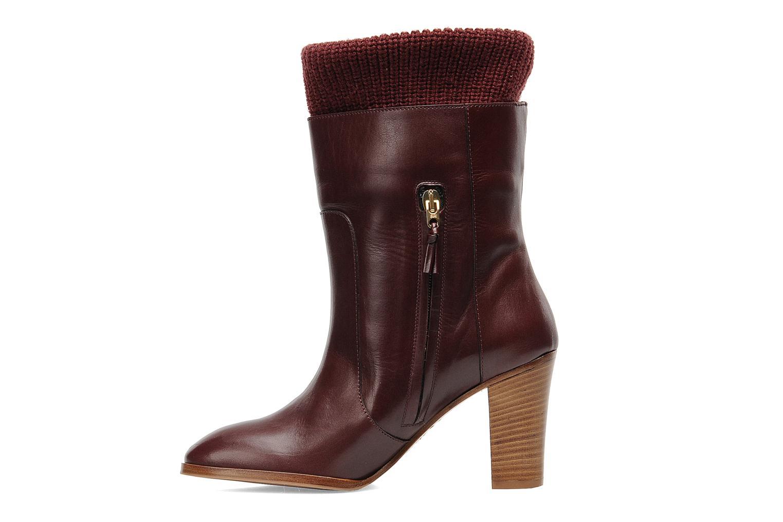 Boots en enkellaarsjes Sonia Rykiel Sepia Bordeaux voorkant