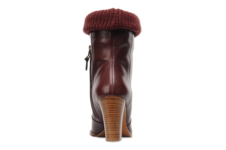 Boots en enkellaarsjes Sonia Rykiel Sepia Bordeaux rechts